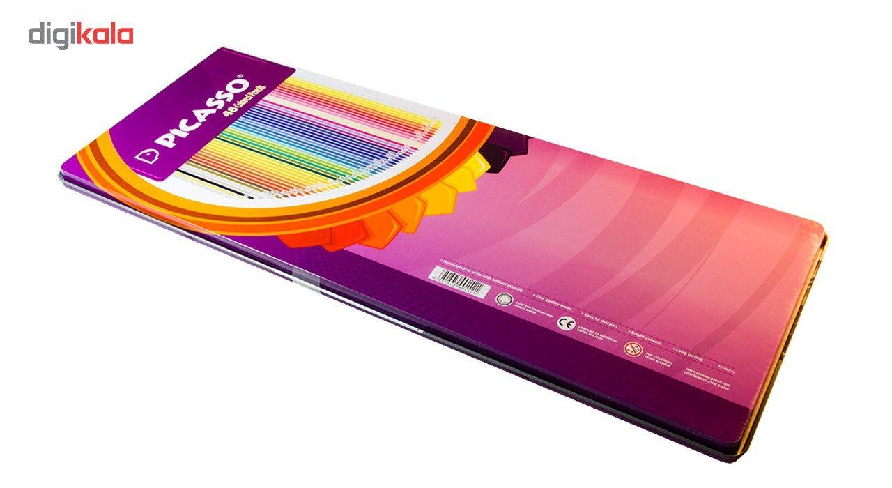 مداد رنگی 48 رنگ پیکاسو مدل Superb Writer طرح نیویورک main 1 4