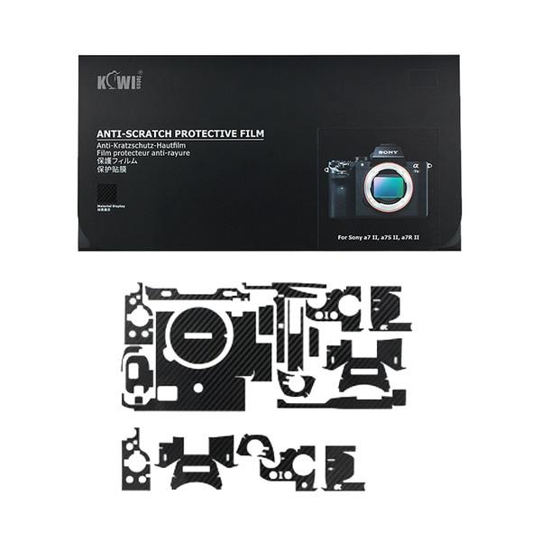 برچسب پوششی کی وی مدل KS-A7M2CF مناسب برای دوربین عکاسی سونی a7II / a7SII / a7RII