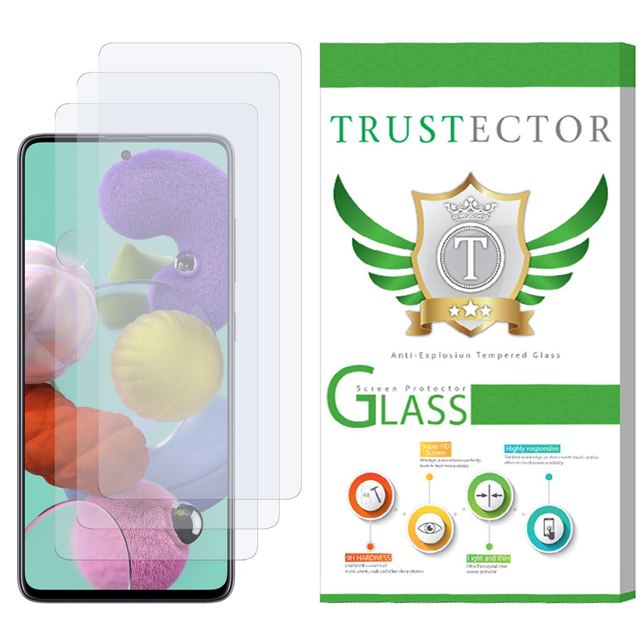 محافظ صفحه نمایش تراستکتور مدل GLS مناسب برای گوشی موبایل سامسونگ Galaxy A51 بسته 3 عددی              ( قیمت و خرید)