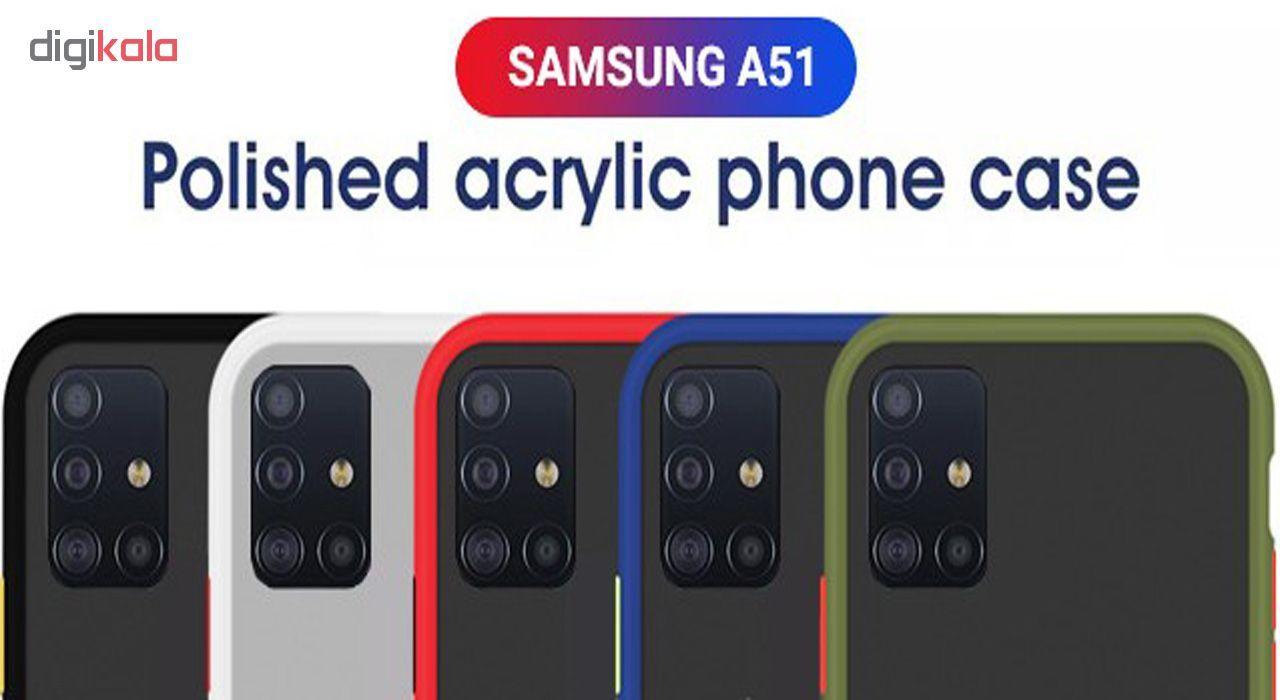 کاور مدل H67 مناسب برای گوشی موبایل سامسونگ Galaxy A51