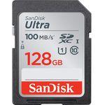 کارت حافظه SDXC سن دیسک مدل Ultra کلاس 10 استاندارد UHS-I U1 سرعت  100MBps ظرفیت 128 گیگابایت thumb