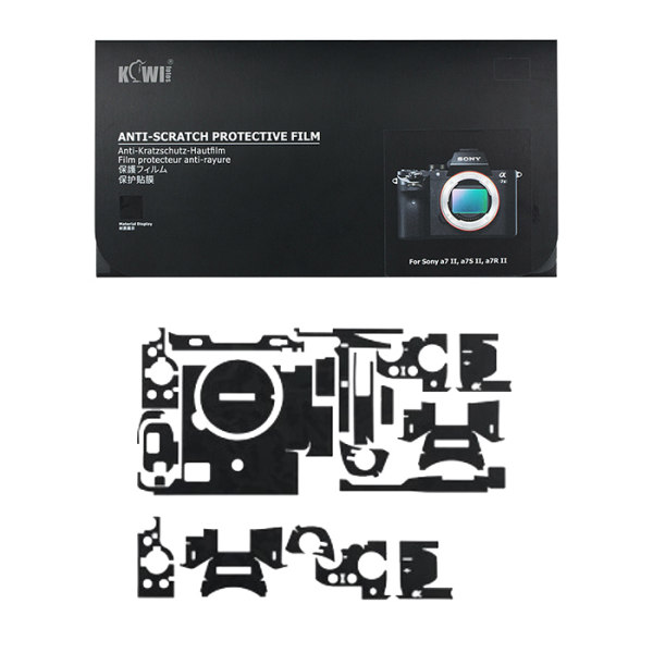 برچسب پوششی کی وی مدل KS-A7M2SK مناسب برای دوربین عکاسی سونی a7II / a7SII / a7RII