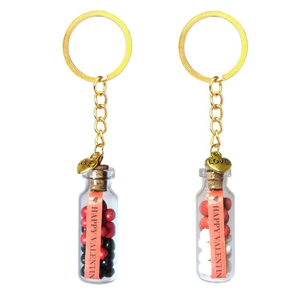 جاکلیدی طرح بطری مدل عشق کد jkv مجموعه 2 عددی