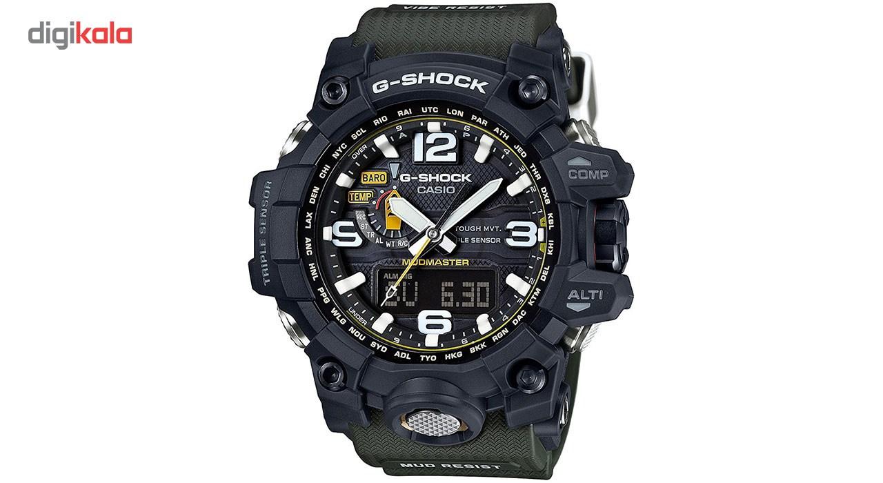 خرید ساعت مچی عقربه ای مردانه کاسیو جی شاک مدل GWG-1000-1A3DR | ساعت مچی