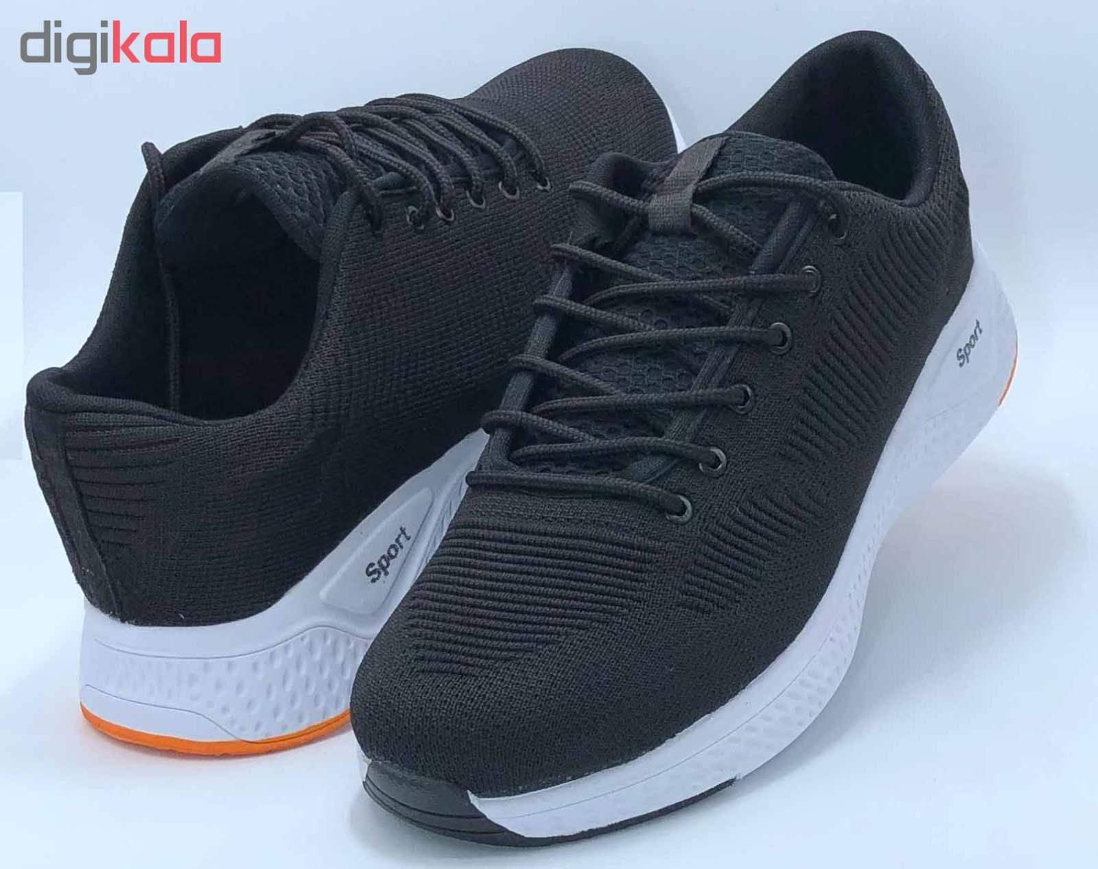 کفش مخصوص پیاده روی مردانه کفش سعیدی کد MU110 -  - 4