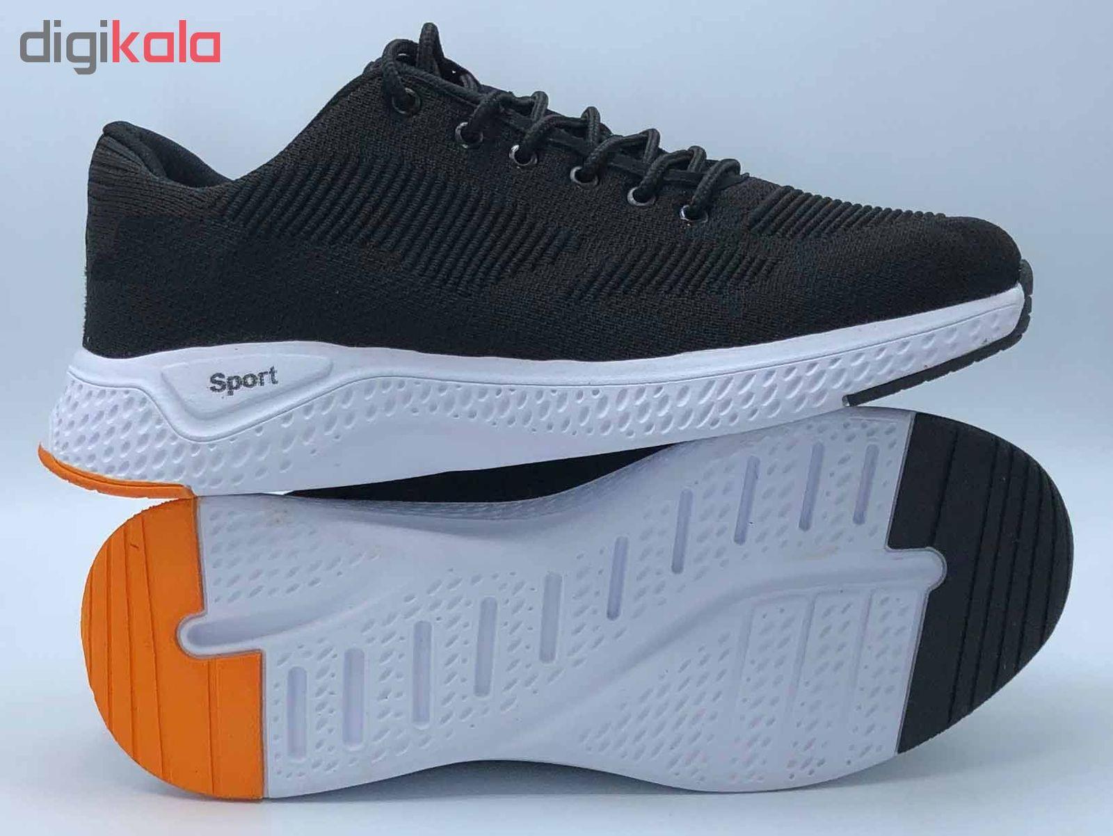 کفش مخصوص پیاده روی مردانه کفش سعیدی کد MU110 -  - 5