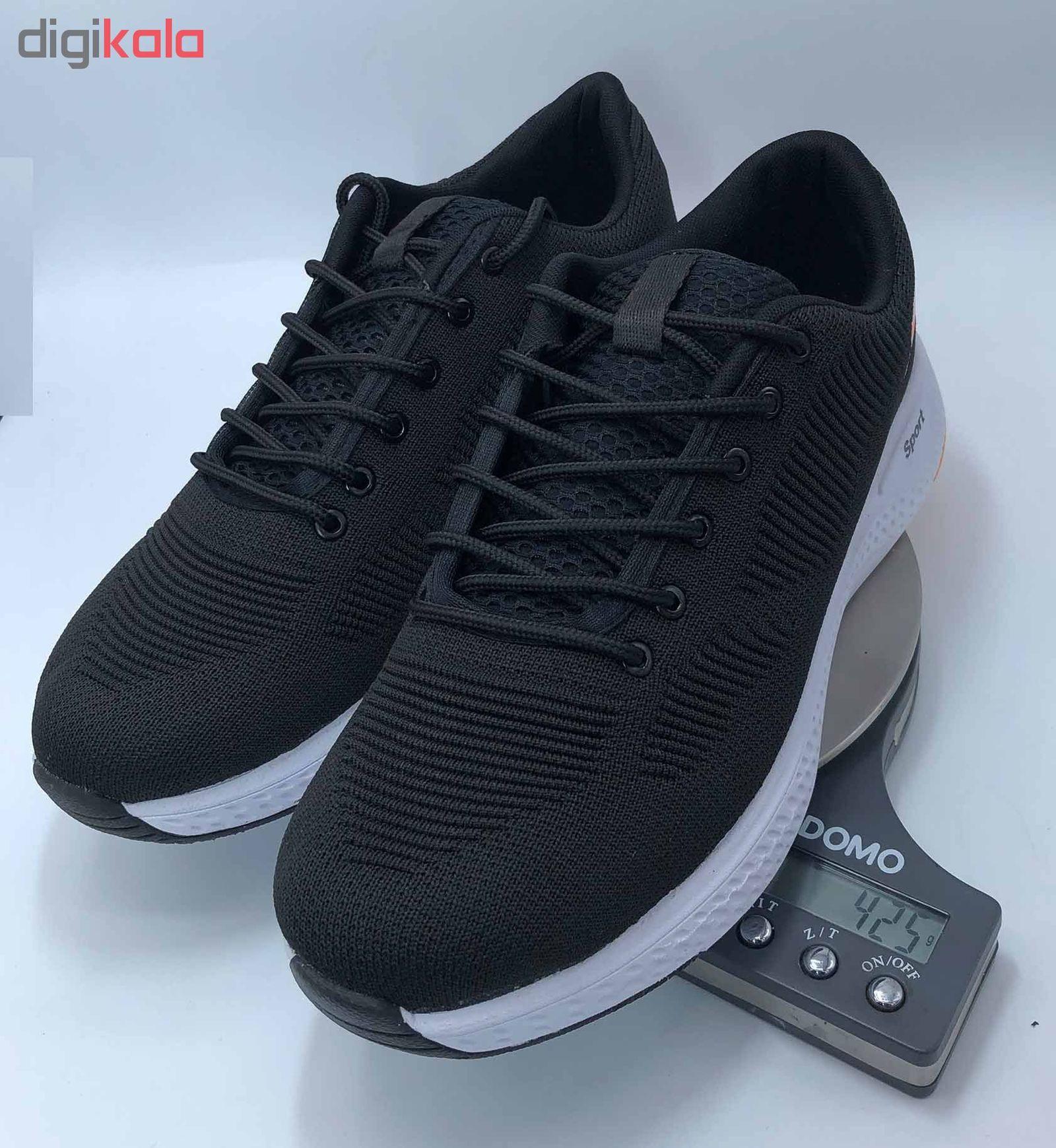 کفش مخصوص پیاده روی مردانه کفش سعیدی کد MU110 -  - 6