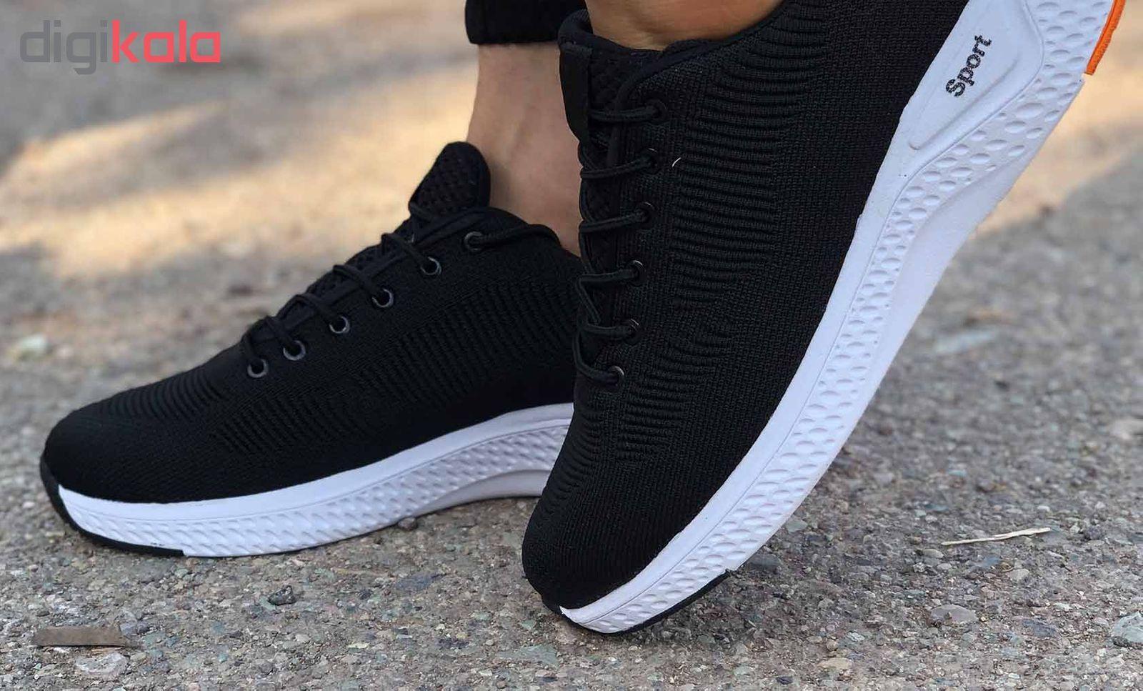 کفش مخصوص پیاده روی مردانه کفش سعیدی کد MU110 -  - 8