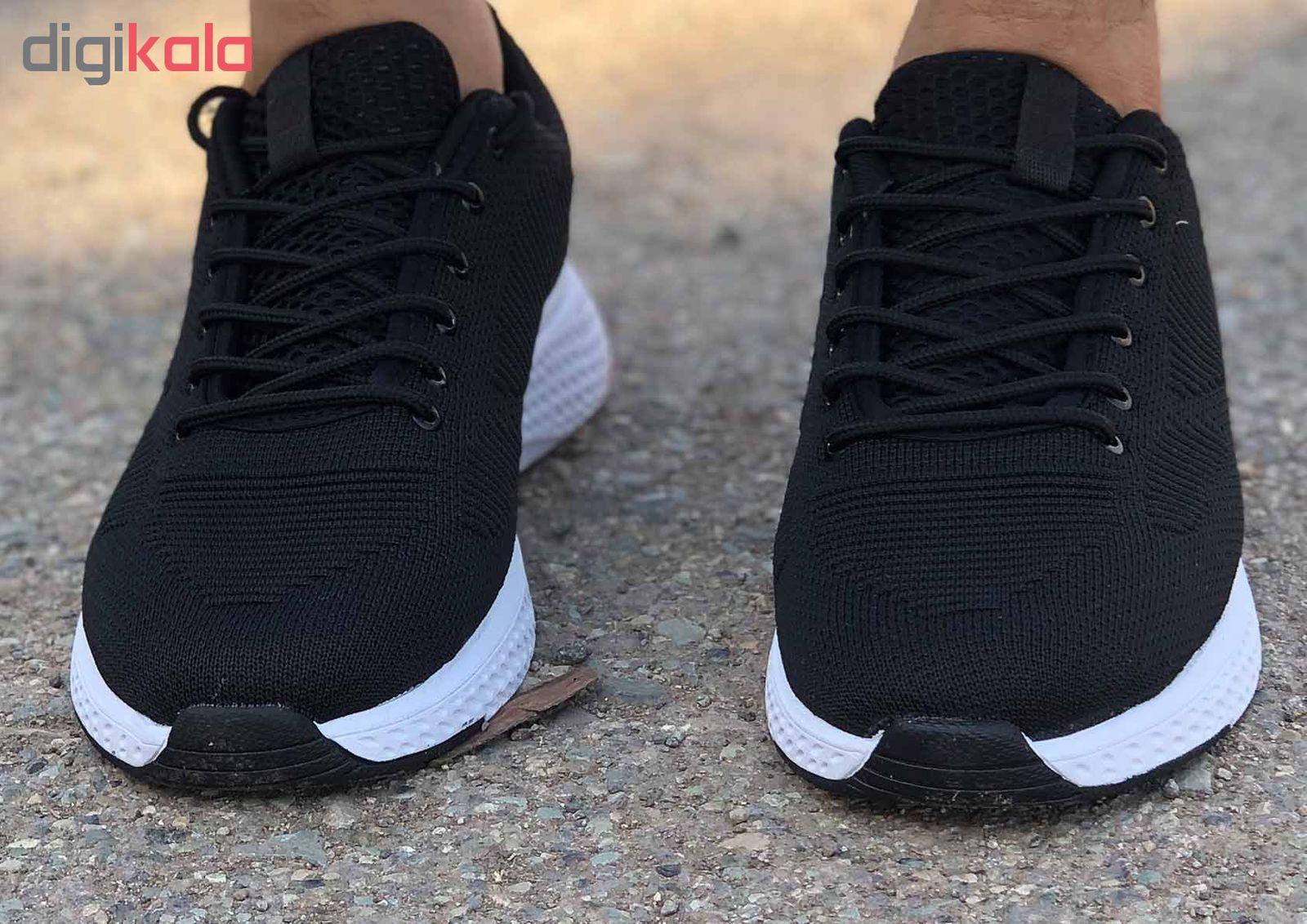 کفش مخصوص پیاده روی مردانه کفش سعیدی کد MU110 -  - 9