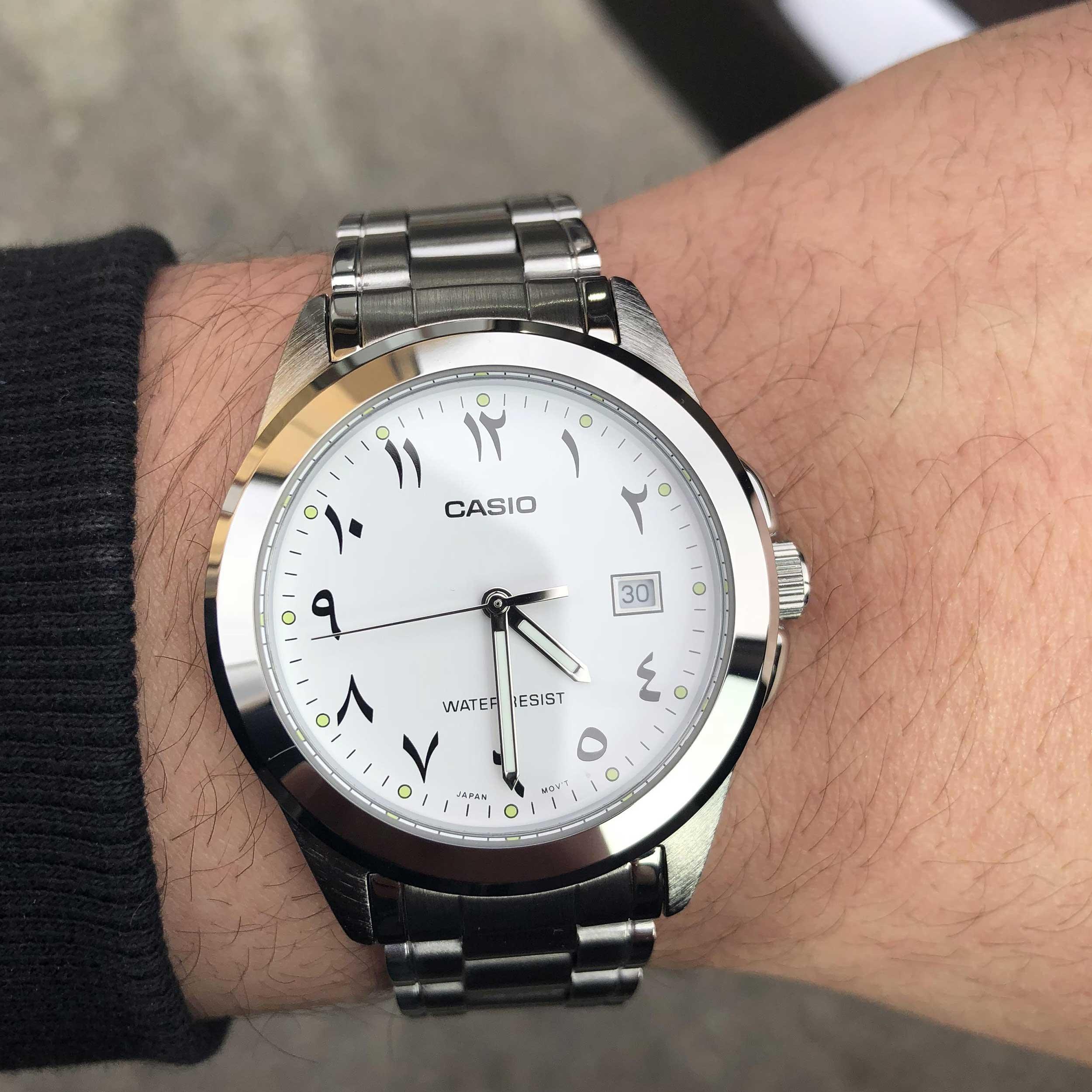 کد تخفیف                                      ساعت مچی عقربه ای مردانه کاسیو مدل LTP-1215A-7B3