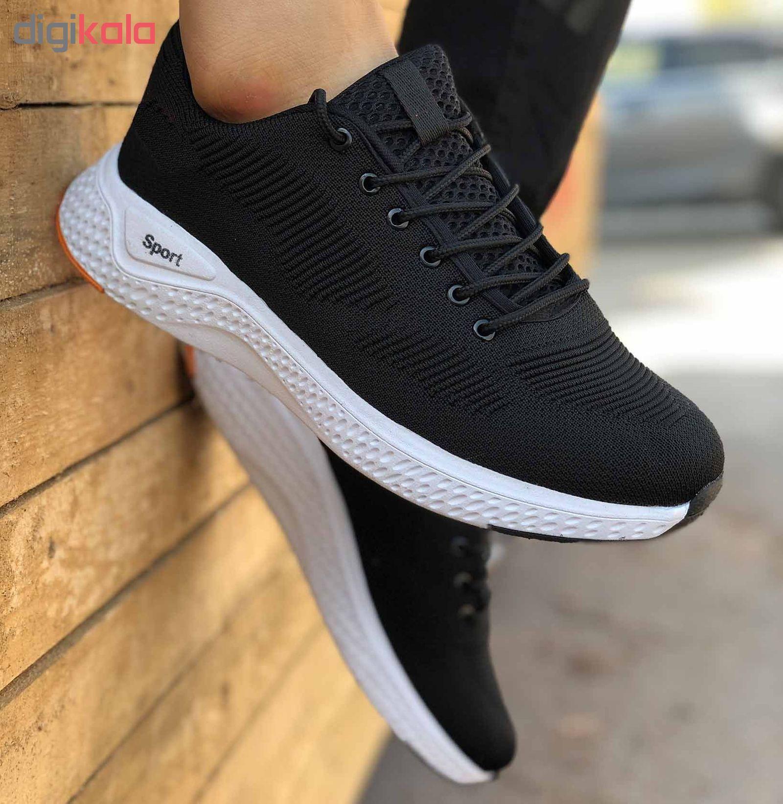 کفش مخصوص پیاده روی مردانه کفش سعیدی کد MU110 -  - 10