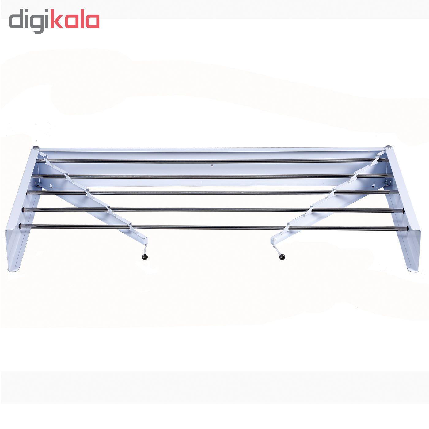 بند رخت دیواری مدل رخشا main 1 2