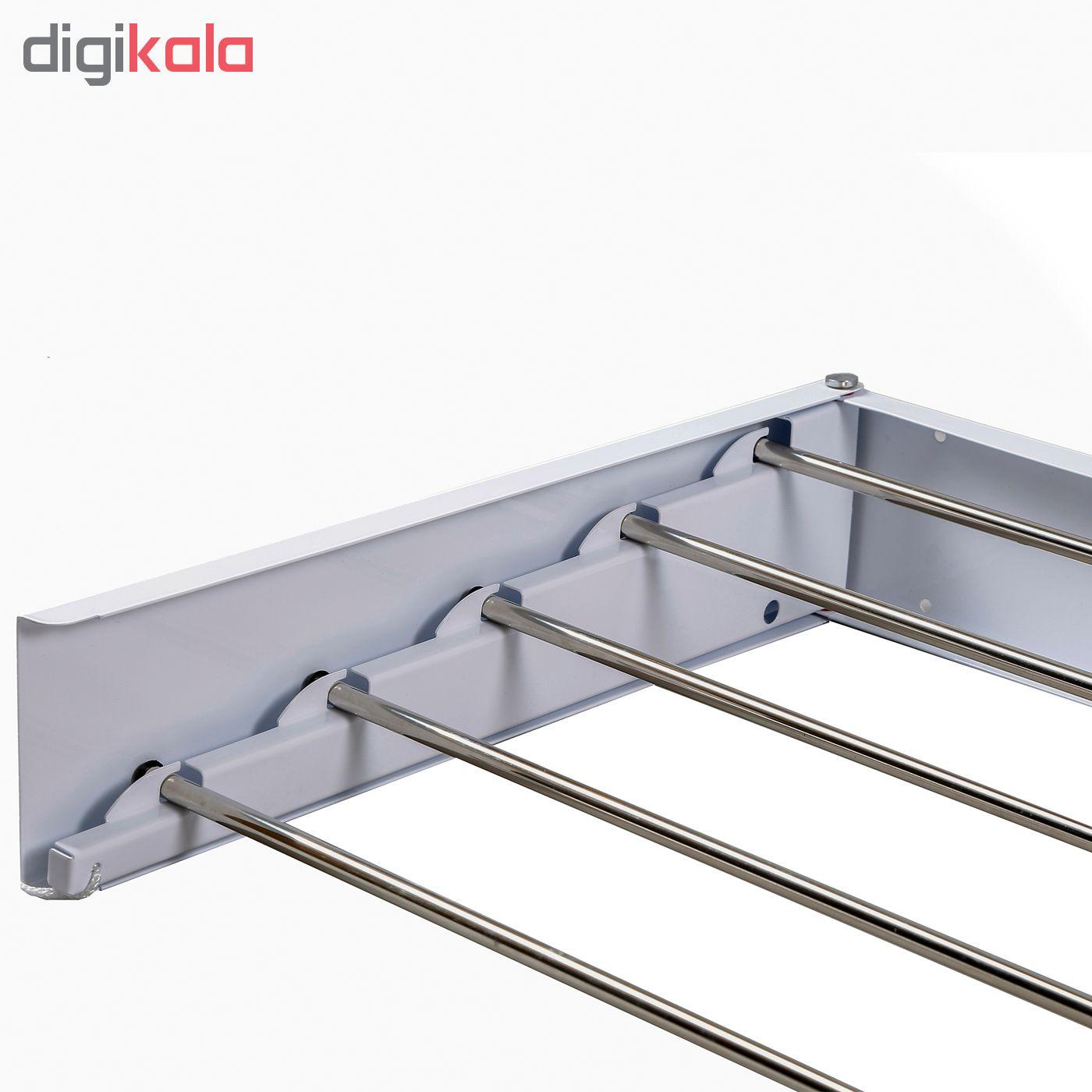 بند رخت دیواری مدل رخشا main 1 4