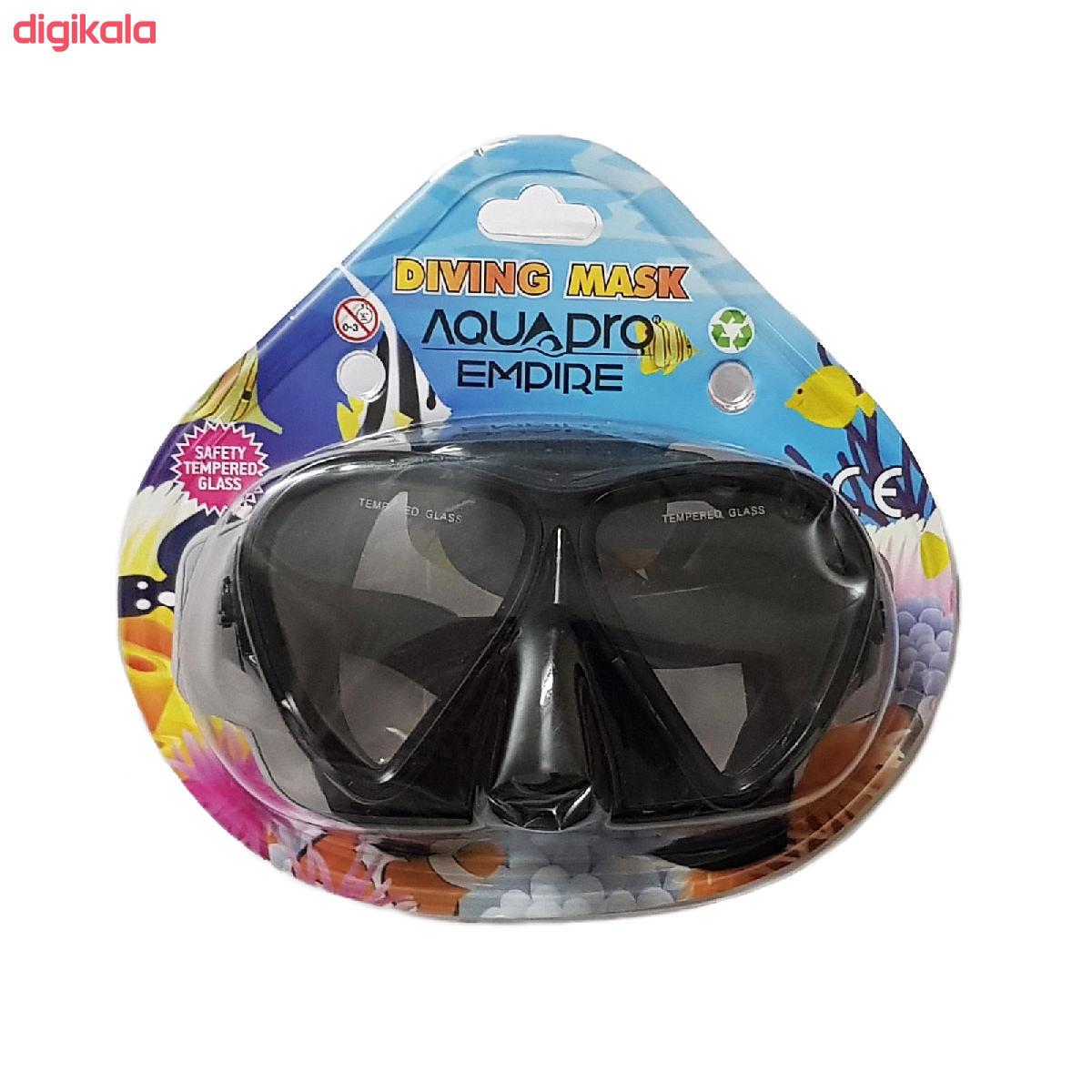 عینک و اسنورکل و فین غواصی آکوا پرو کد 58924 main 1 1