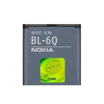 باتری موبایل مدل BL-6Q ظرفیت 970 میلی آمپر ساعت مناسب برای گوشی موبایل نوکیا 6700 Classic