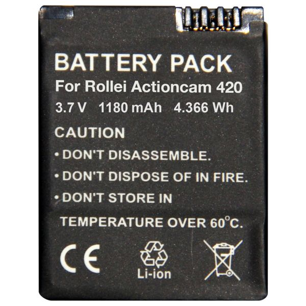 باتری رولی مدل Battery pack for Actioncam 420