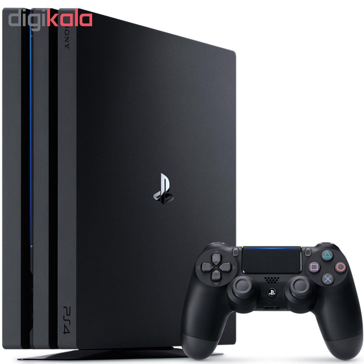 کنسول بازی سونی مدل Playstation 4 Pro ریجن 3 کد CUH-7218B ظرفیت 1 ترابایت main 1 1