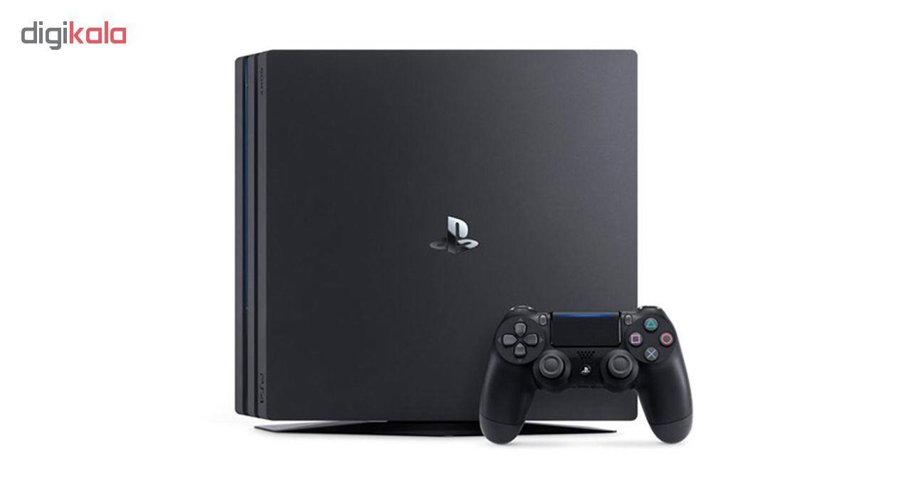 کنسول بازی سونی مدل Playstation 4 Pro ریجن 3 کد CUH-7218B ظرفیت 1 ترابایت main 1 3