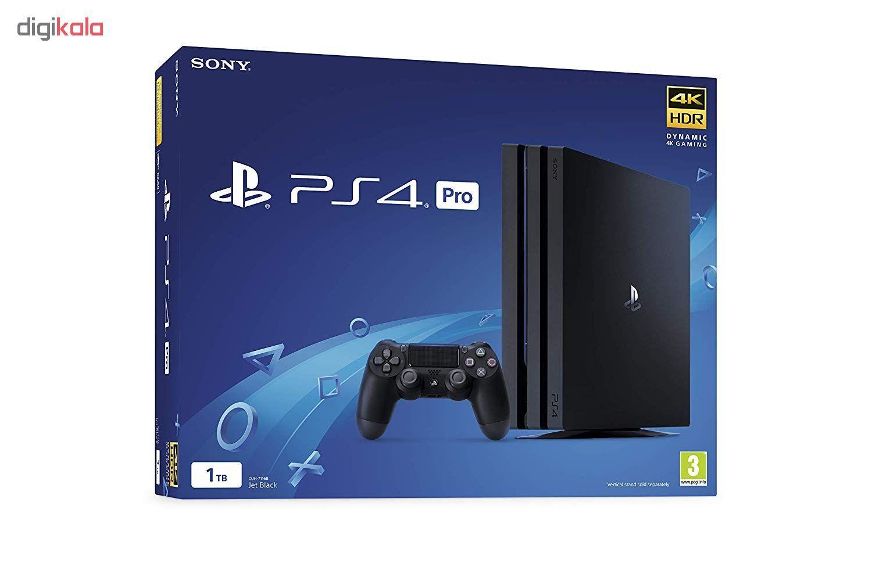 کنسول بازی سونی مدل Playstation 4 Pro ریجن 3 کد CUH-7218B ظرفیت 1 ترابایت main 1 5