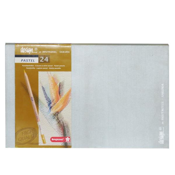 پاستل مدادی 24 رنگ برونزیل مدل desi24 کد H23