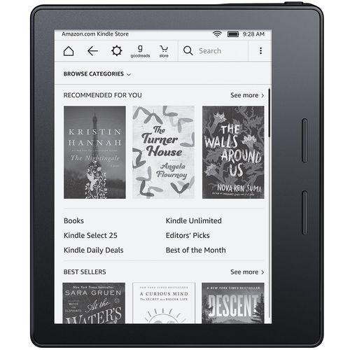 کتابخوان آمازون مدل Kindle Oasis WiFi - ظرفیت 4 گیگابایت