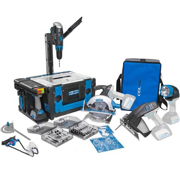 مجموعه ابزار کارگاهی قابل حمل سل مدل Power8 Pro WS-4E