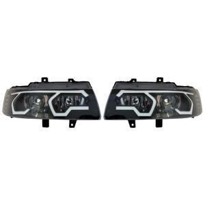 چراغ جلو اسپرت نگین مدل SA-01 مناسب برای سمند بسته 2 عددی