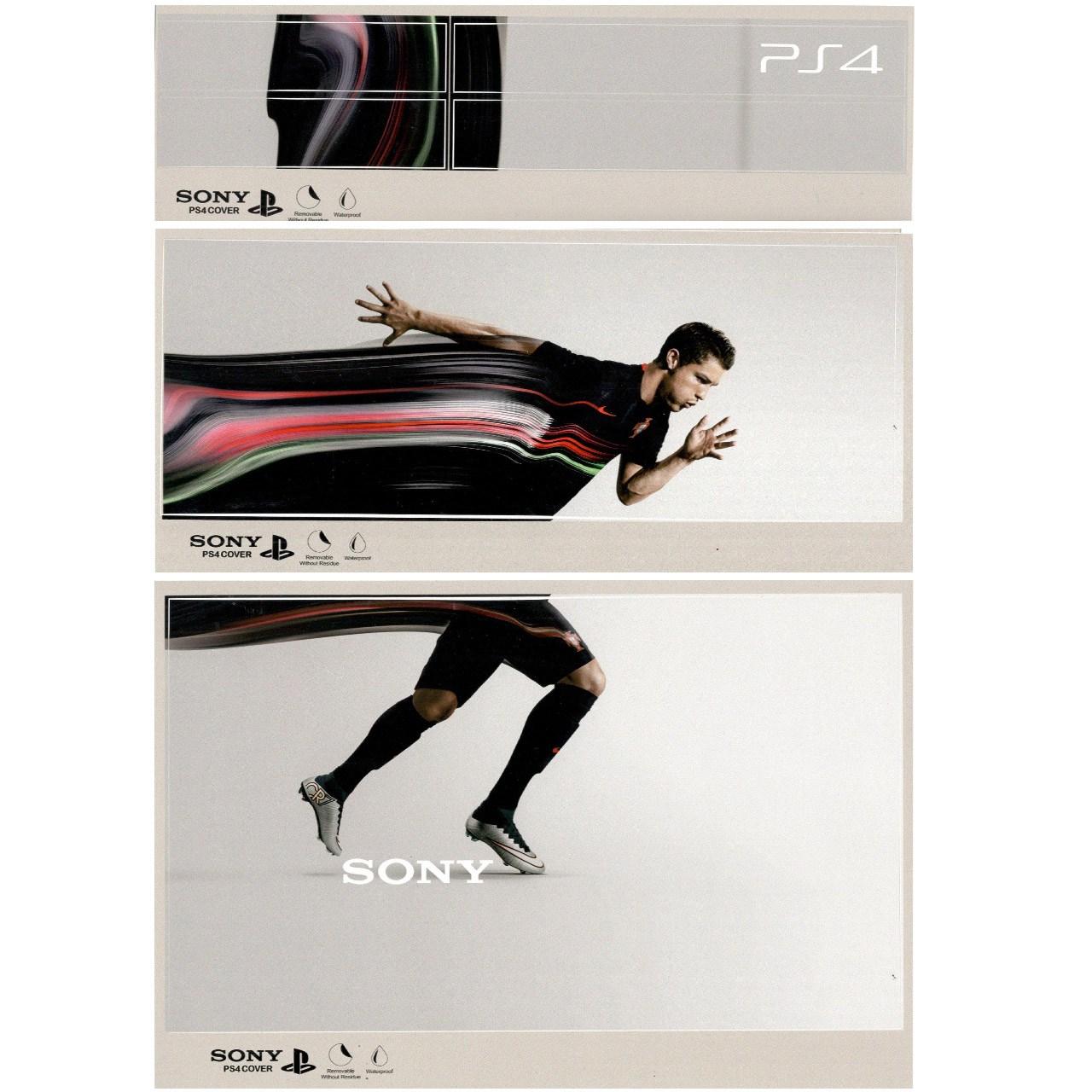 برچسب پلی استیشن 4 طرح Cristiano Ronaldo