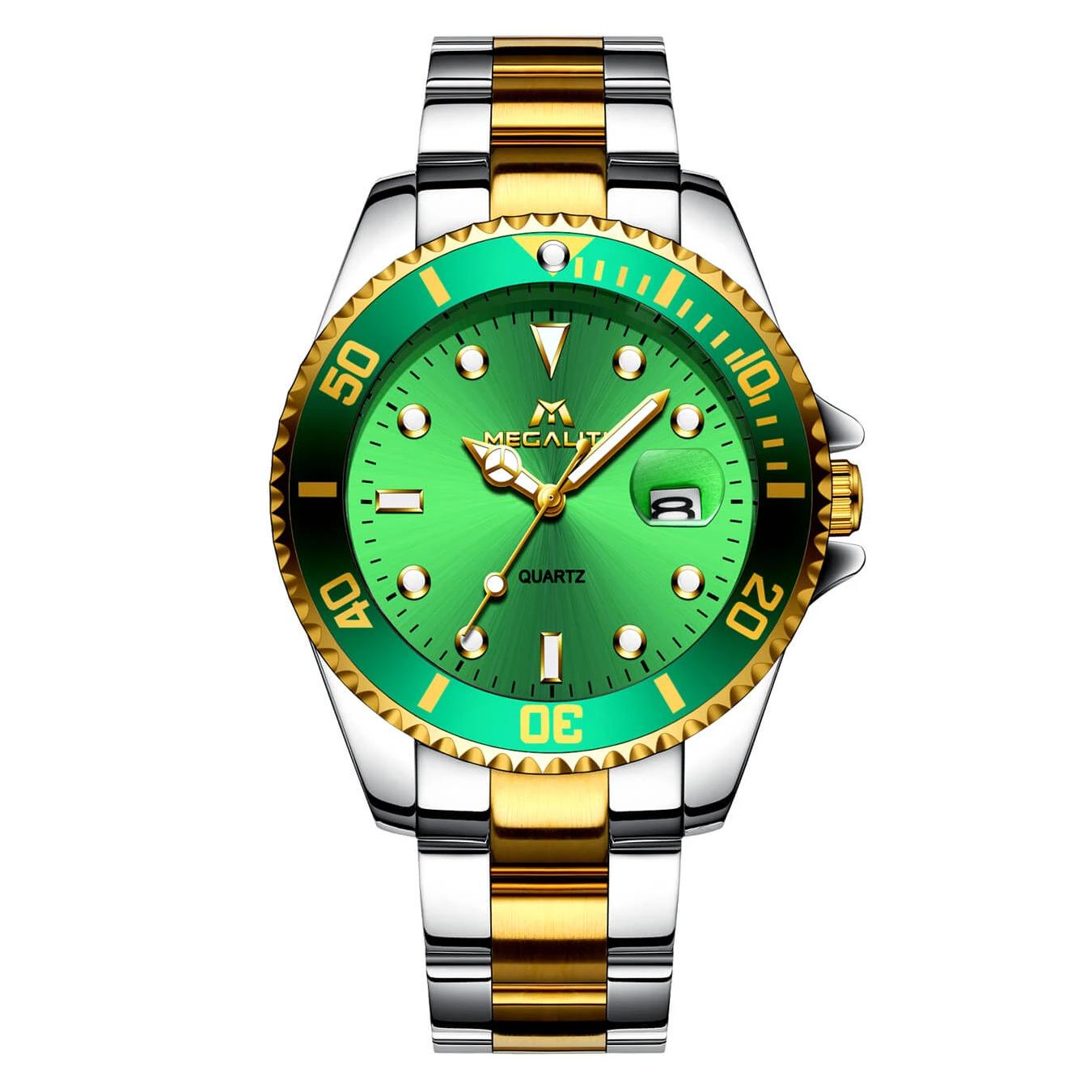 ساعت مچی عقربه ای مگالیت مدل 0037GR