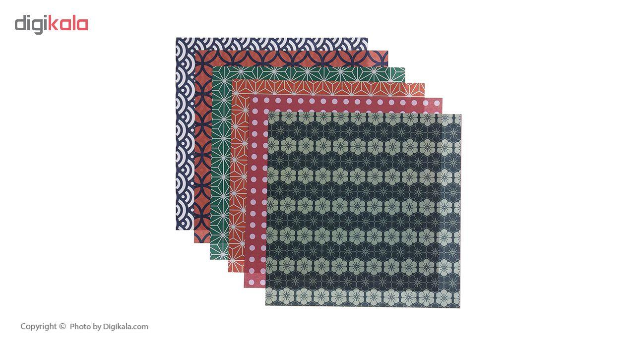 کاغذ اریگامی  مدل ژاپنی   کد 210   مجموعه 2 عددی