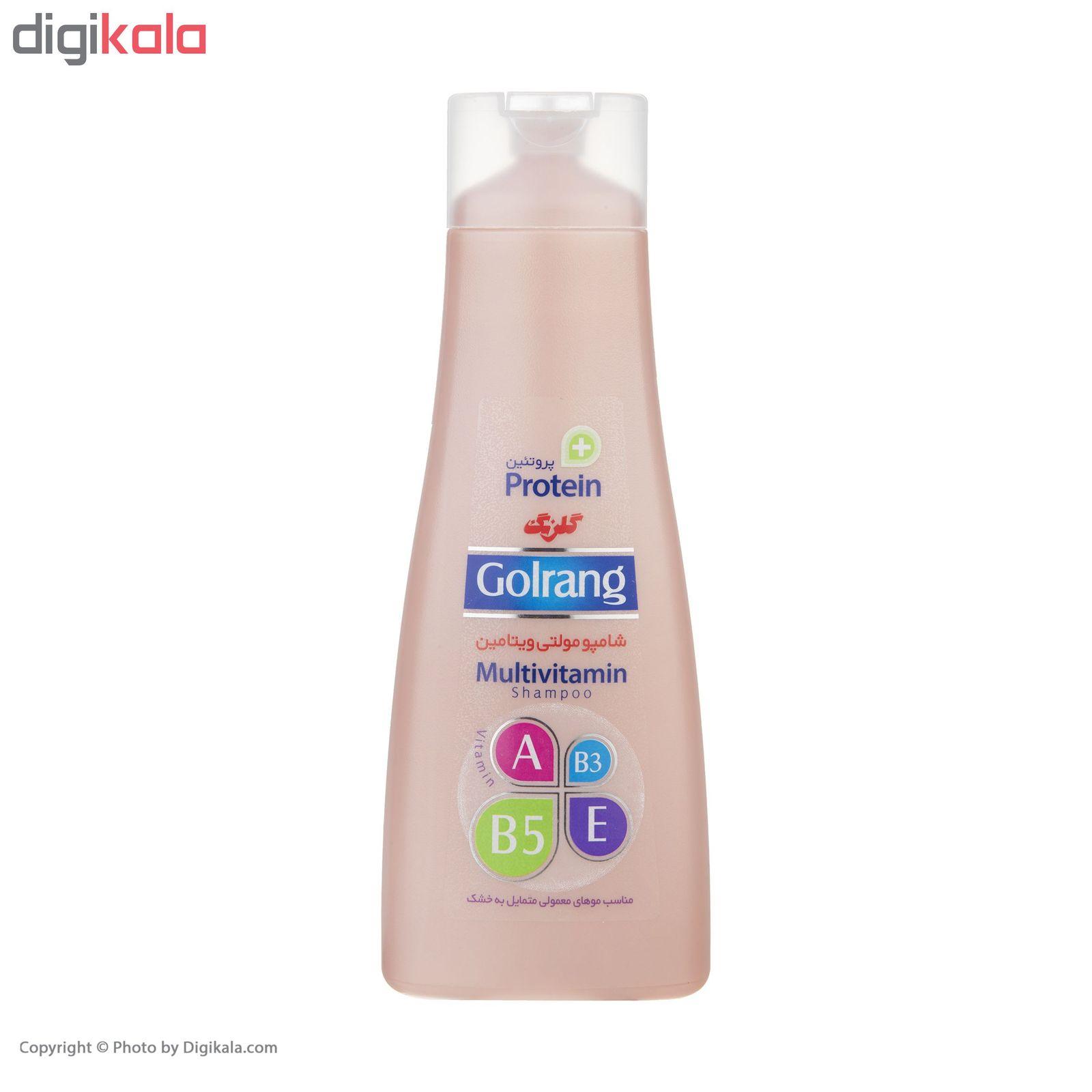 شامپو موی گلرنگ سری Plus Protein مدل Dry Hair مقدار 400 گرم main 1 2
