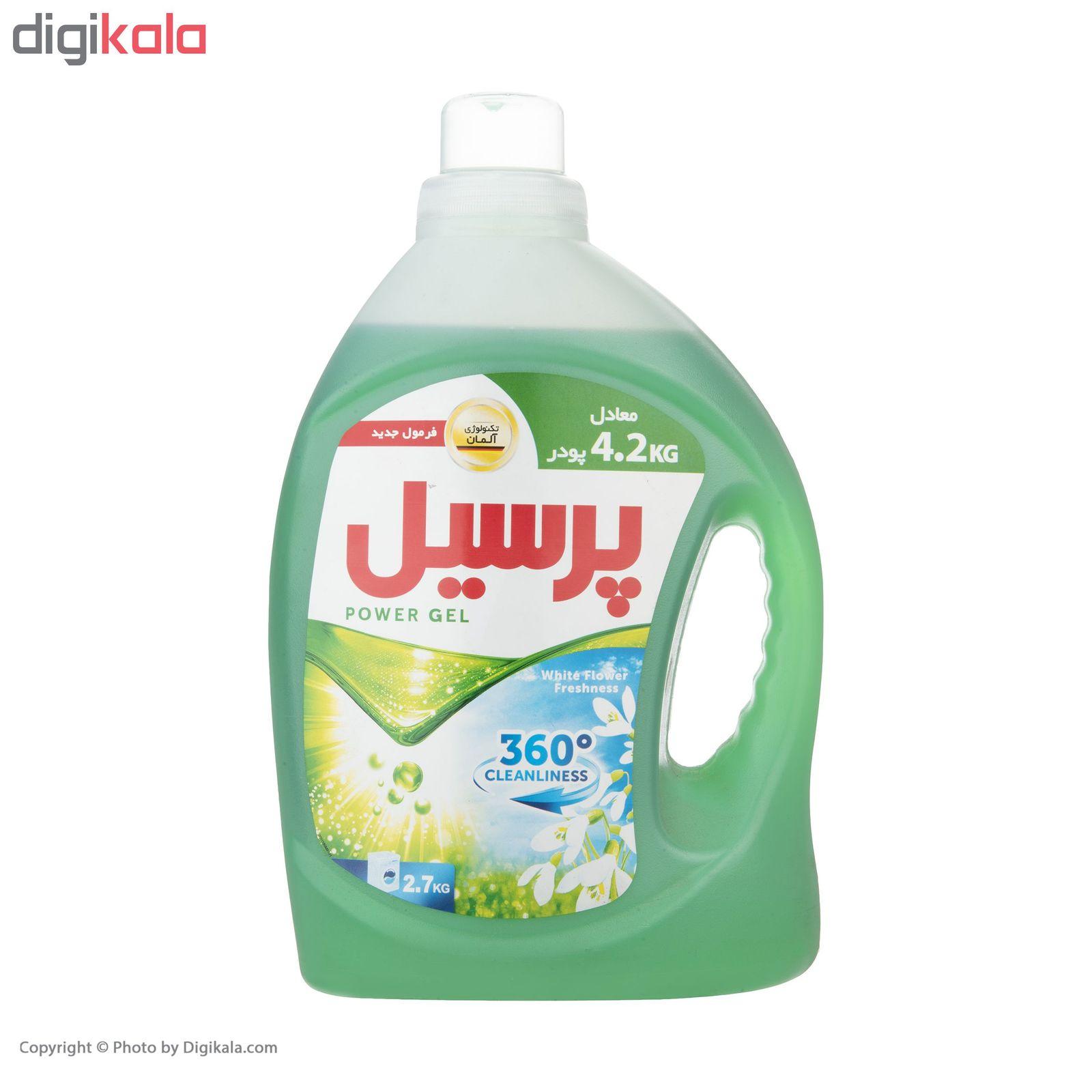 مایع ماشین لباسشویی پرسیل مدل 360Degree Cleanliness مقدار 2.7 کیلوگرم main 1 2