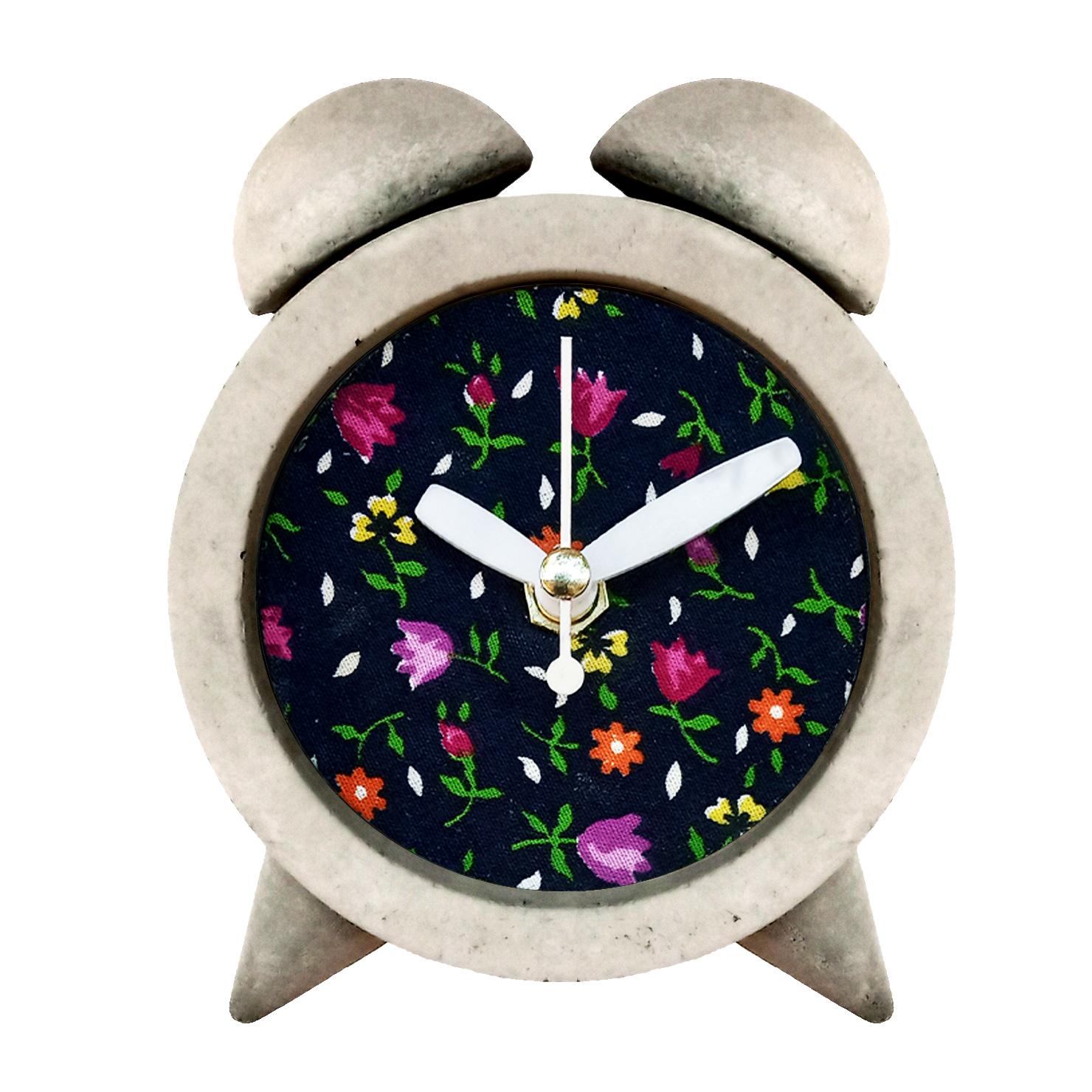 ساعت رومیزی بتنی مدل M-c15