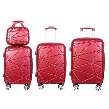 مجموعه چهار عددی چمدان مدل 4291