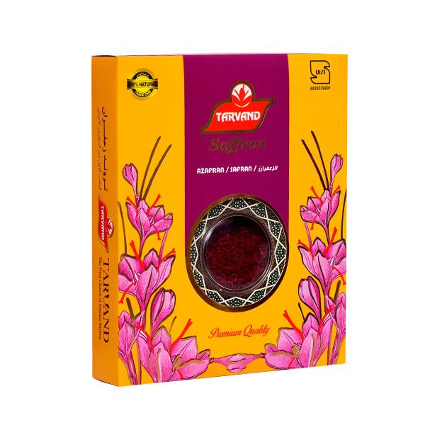 زعفران سرگل درجه یک تروند مقدار 1 گرم