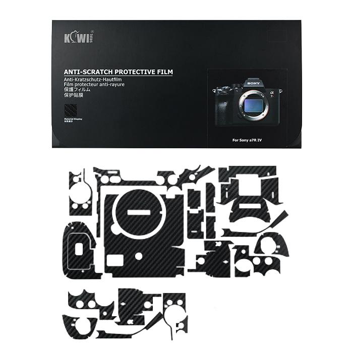 برچسب پوششی کی وی مدل KS-A7R4CF مناسب برای دوربین عکاسی سونی a7R IV