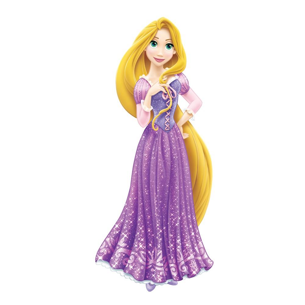 استیکر فراگراف کلید و پریز FG طرح گیسو کمند شخصیتهای دیزنی کد 129 Rapunzel بسته دو عددی
