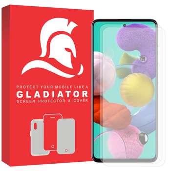 محافظ صفحه نمایش گلادیاتور مدل GLS2000 مناسب برای گوشی موبایل سامسونگ Galaxy A51 بسته دو عددی