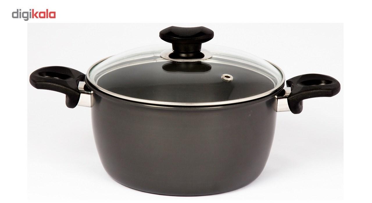 سرویس پخت و پز 8 پارچه هارد آنودایز دایان مدل دایموند