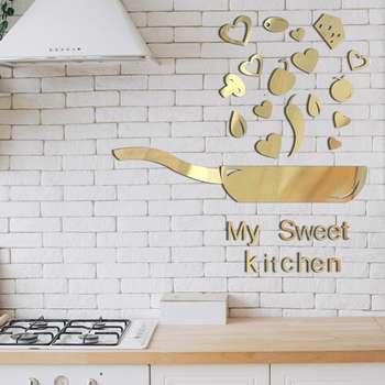 آیینه طرح آشپزخانه  کد Z05