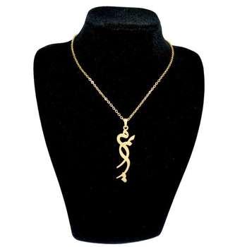 گردنبند طلا ۱۸ عیار زنانه طرح مریم کد S9802