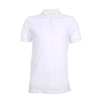 پولوشرت مردانه کد SHB-01 رنگ سفید