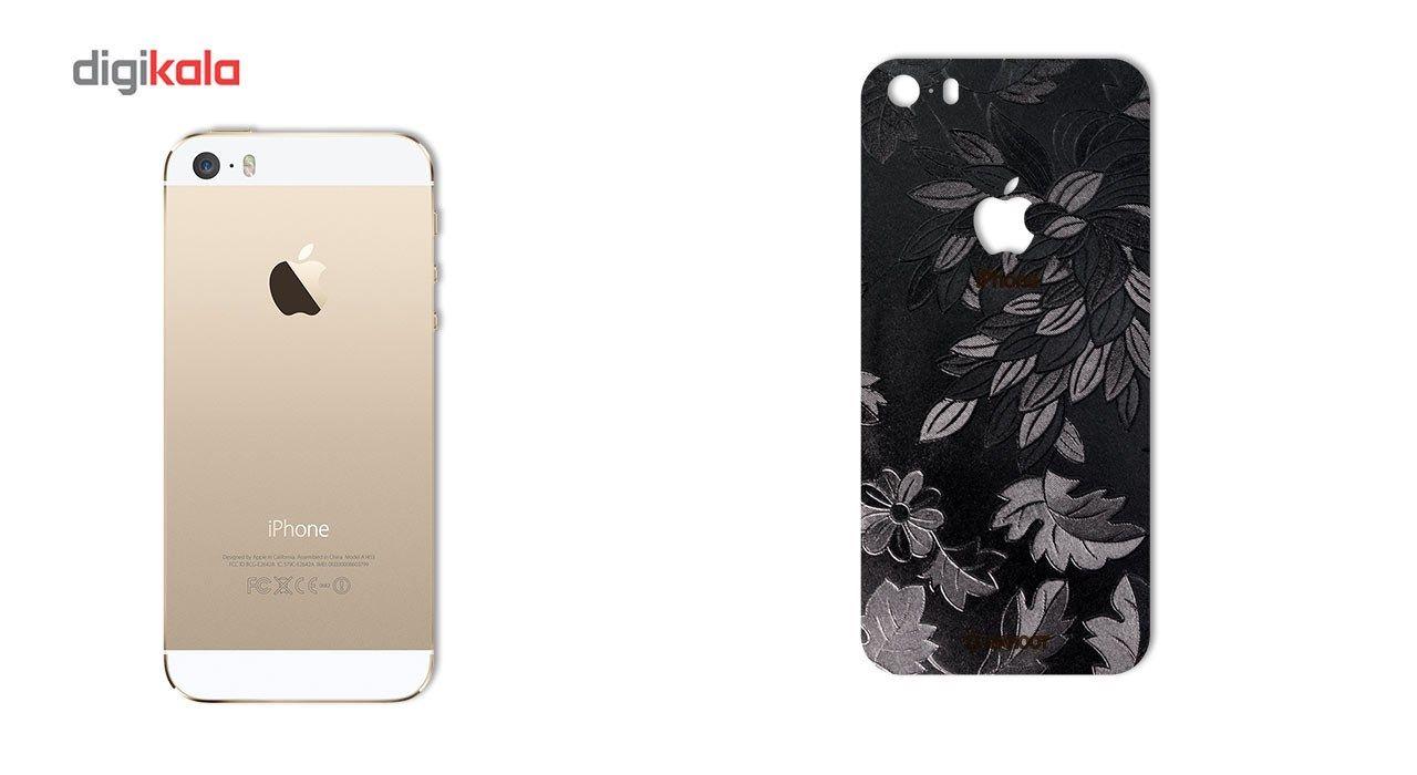 برچسب پوششی ماهوت مدل Wild-flower Texture مناسب برای گوشی  iPhone 5s-SE main 1 1