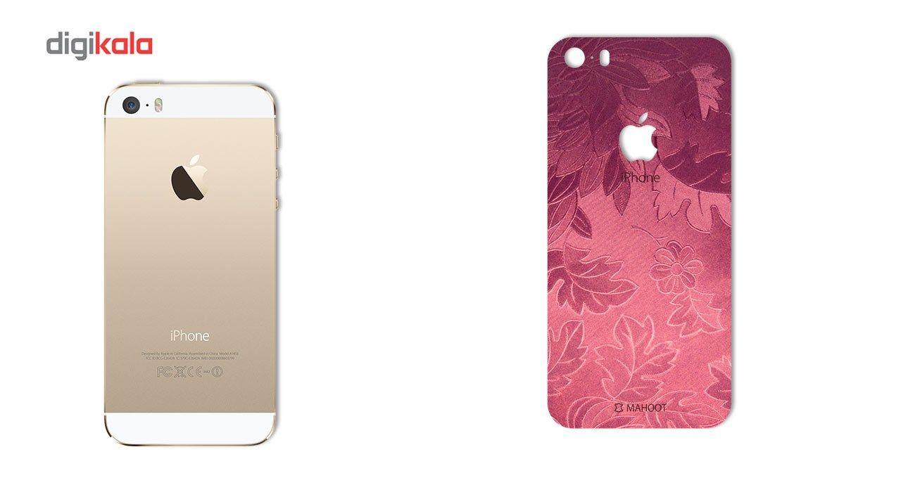برچسب پوششی ماهوت مدل Wild-flower Texture مناسب برای گوشی  iPhone 5s-SE main 1 2