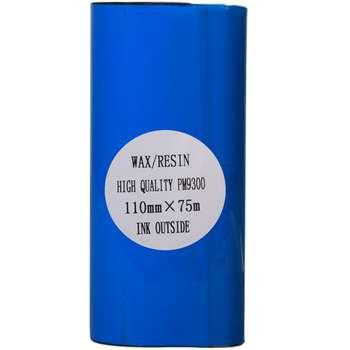 ریبون پرینتر لیبل زن NP مدل Wax Resin 110mm x 75m