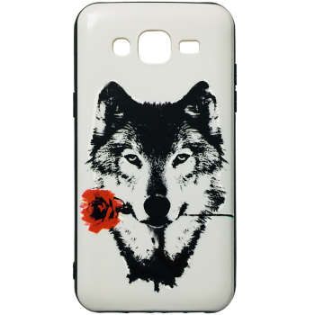 کاور طرح Wolf کد 1363 مناسب برای گوشی موبایل سامسونگ Galaxy J5 / J500