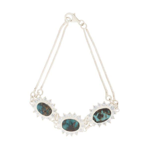 دستبند نقره زنانه کد TG5304