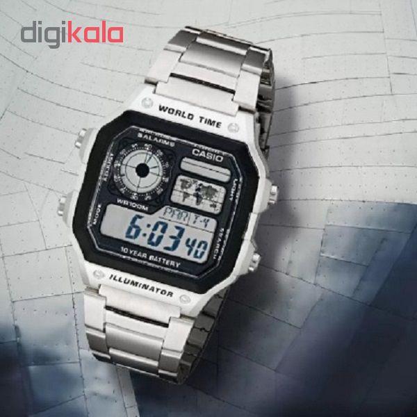 ساعت مچی دیجیتال کاسیو مدل AE-1200WHD-1AVDF