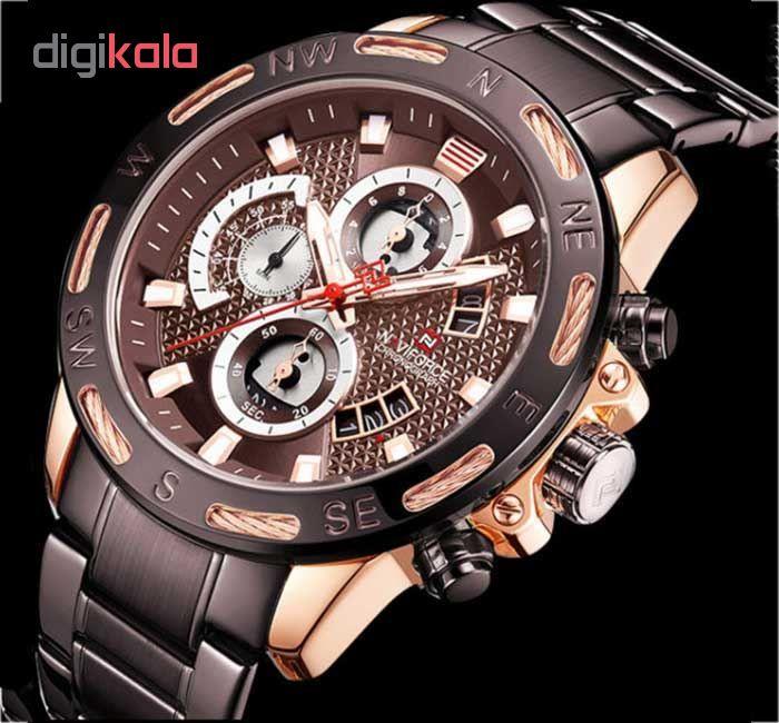ساعت مچی عقربه ای مردانه نیوی فورس مدل NF9165 RGCE              خرید (⭐️⭐️⭐️)