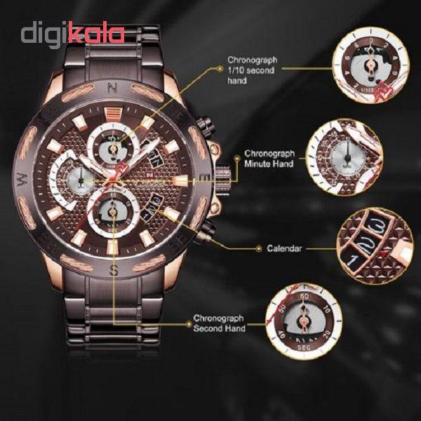 ساعت مردانه نیوی فورس مدل NF9165 RGCE